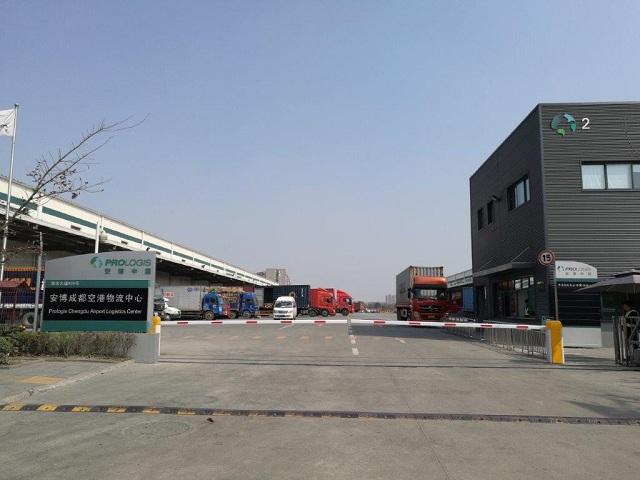 成都双流安博空港仓库