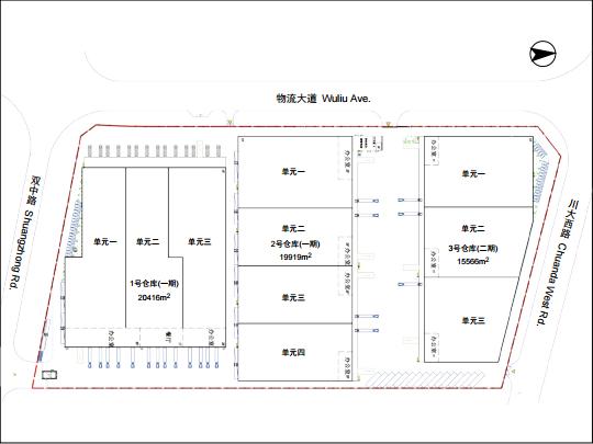 仓库配置平面图
